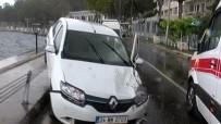 KANLıCA - İstanbul'da Yağmur Kazaya Neden Oldu Açıklaması 1 Yaralı