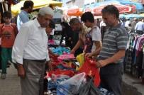FEYAT ASYA - Muş'ta Bayram Pazarı Kuruldu