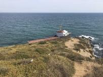 KURU YÜK GEMİSİ - Sarıyer'de Bölünen Geminin Arka Kısmındaki Yakıt Deposu Boşaltılamadı