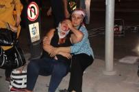 TİCARİ TAKSİ - Ticari Taksi İle Otomobil Çarpıştı Açıklaması6 Yaralı