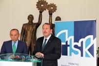 TÜRKIYE İŞVEREN SENDIKALARı KONFEDERASYONU - AK Parti Genel Başkan Yardımcısı Karacan'dan TİSK'e Ziyaret