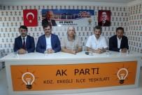 FARUK ÇATUROĞLU - AK Parti Zonguldak Milletvekilleri Özbakır Ve Çaturoğlu Partililerle Buluştu