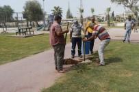 KAZANLı - Akdeniz Belediyesi Parkları Revize Ediyor