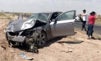 SAĞLIKÇI - Aksaray'da İki Otomobil Çarpıştı Açıklaması 2 Ölü, 4 Yaralı