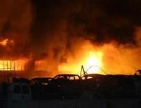 ATIK KAĞIT - Ankara'da korkutan yangın