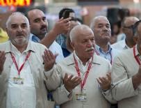 SABİHA GÖKÇEN HAVALİMANI - Ankara'dan ilk hac kafilesi uğurlandı