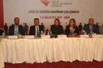 SÜLEYMAN ELBAN - Bakan Kaya Ağrı'da Çalışma Toplantısına Katıldı