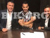 AHMET BULUT - Beşiktaş Negredo'ya imzayı attırdı