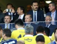 FENERBAHÇE BAŞKANI - Cumhurbaşkanı Erdoğan Kadıköy'de