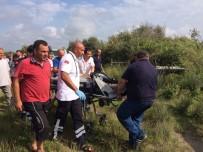 AMBULANS HELİKOPTER - Denizde Yüzen İmam Boğulma Tehlikesi Geçirerek Hastanelik Oldu