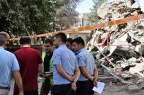 GIRNE - Diyarbakır'da Tahliye Edilen Binalarda Hasar Tespit Çalışmaları Başladı