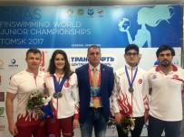 ERKMEN - Dün Dünya İkincisi, Bugün Dünya Şampiyonu Oldu