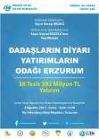 ALLAHUEKBER DAĞLARI - Erzurum'a 38 Tesis Kazandırılıyor