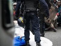 POLİS ŞİDDETİ - Fransa'da sığınmacılara kötü muamele