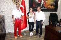 Gençlik Spor İl Müdürü Alp'ten Avrupa 3'Ncüsü Uskun'a Tebrik