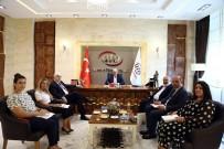 YABANCI YATIRIMCI - Gürcistan Büyükelçisi Koplatadze, ATO Başkanı Baran'ı Ziyaret Etti