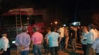 HAFRİYAT KAMYONU - Hafriyat Kamyonunda Yangın Çıktı