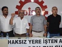 İŞ BIRAKMA EYLEMİ - İzmir'de 'hayatı durduralım' eylemi