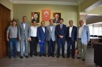 AK PARTİ İLÇE BAŞKANI - Kaymakam Ve Başkanlardan Başkan Avcu'ya Ziyaret