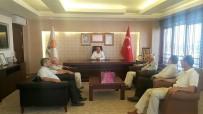 ORTAK AKIL - Kayseri Ticaret Odası Heyeti'nden AK Parti'ye Ziyaret