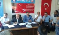 OLAĞANÜSTÜ KONGRE - Kırıkkale Sağlık-Sen'de Akdoğan İle Yola Devam