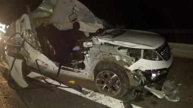 Kontrolden Çıkan Araç Bariyerlere Çarptı Açıklaması 2 Çocuk Öldü