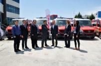 MERCEDES - Mercedes, EMS A.Ş.'Nin Başarısını Tebrik Etmek Üzere Türkiye'ye Ziyarete Geldi
