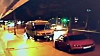TİCARİ TAKSİ - Şişli'de Taksi Yerde Yatan Kadını Ezdi