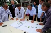 Rize Valisi Erdoğan Bektaş, İyidere İlçesinde İncelemede Bulundu.