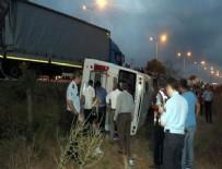 HALK OTOBÜSÜ - Samsun'da feci kaza! Çok sayıda yaralı...