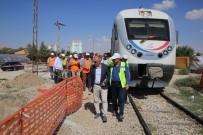 HıZLı TREN - TCDD Genel Müdürü Apaydın, Karaman'da Hızlı Tren Çalışmaları İnceledi