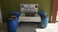 SAHTE RAKı - Tokat'ta Sahte Rakı Operasyonu