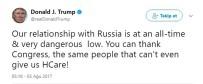 SAĞLIK SİGORTASI - Trump Rusya Konusunda Kongreyi Suçladı