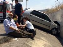 Turgutlu'da Trafik Kazası Açıklaması 4 Yaralı