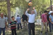 Vali Toraman, Özel Çocuklarla Piknikte Top Oynadı