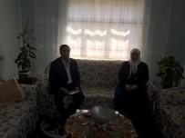 ÇAM SAKıZı - Başkan Kahraman'da Şehit Ailelerine Ziyaret