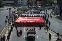 KIBRIS BARIŞ HAREKATI - Başkent'te 30 Ağustos Zafer Bayramı Dolayısıyla, Geçit Töreni Düzenlendi