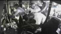 OTOBÜS ŞOFÖRÜ - Halk Otobüsündeki Bıçaklı Kavga Kameralara Yansıdı