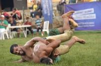 İSMAİL TEPEBAĞLI - Karakucak Güreşleri Yağmur Altında Yapıldı