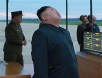 KİM JONG UN - Kim Japonya'ya fırlattığı füzeleri böyle izledi