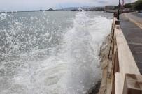 HOŞKÖY - Marmara'da Deniz Ulaşımına Poyraz Engeli