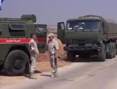 Rusya'dan YPG'ye destek