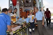 MUŞLU - Sivas'ta Trafik Kazası Açıklaması 4 Yaralı