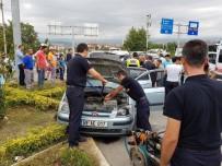 DEĞIRMENLI - Tokat'ta İki Ayrı Trafik Kazası Açıklaması 10 Yaralı