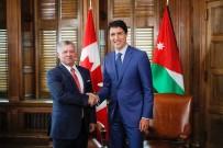 ÜRDÜN KRALI - Ürdün Kralı 2. Abdullah Ve Kanada Başbakanı Trudeau, Orta Doğu Meselelerini Görüştü