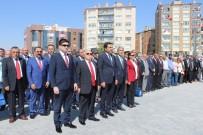 AYHAN ÖZKAN - Zafer Bayramı Kutlamalarında Gazi Mustafa Kemal'in Heykeli Açıldı