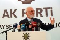 MUSTAFA ELİTAŞ - AK Parti Grup Başkan Vekili Mustafa Elitaş Açıklaması