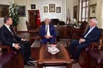 ALPAY ÖZALAN - Başkan Yılmaz Açıklaması 'Samsunspor'a Desteğimiz Sürecek'