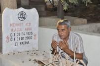 Derik'te Arefe Gününde Mezarlıklar Doldu
