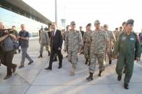 ABDULLAH ERIN - Genelkurmay Başkanı Akar Suriye sınırında